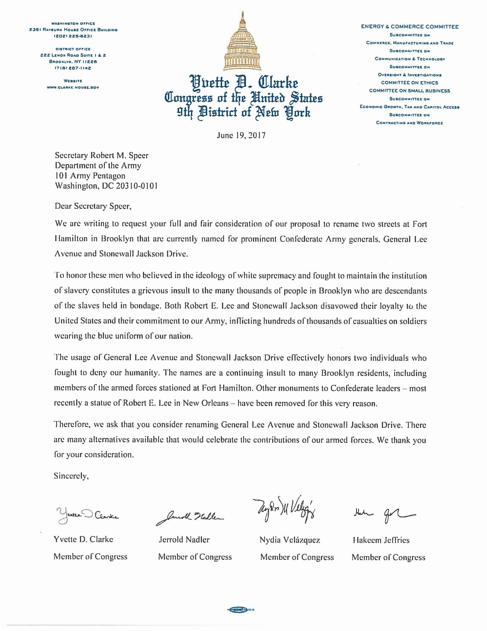 Congresswoman clarkes statement on donald trumps reversal of congresswoman clarkes statement on donald trumps reversal of president obamas cuba policies congresswoman yvette clarke publicscrutiny Gallery